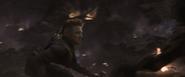 Hawkeye in battle of Earth