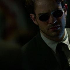 Murdock y Lantom discuten sobre el Diablo.