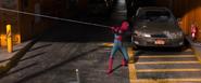 Spider-Man webs Lexus (Staten Island Ferry)