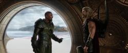 Thor and Skurge