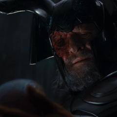 Odín encuentra a Loki abandonado por Laufey.