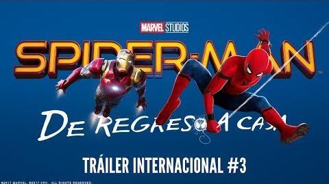 Spider-Man De Regreso a casa - Tráiler Internacional 3
