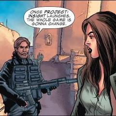 Pietro y Wanda esperan su turno.