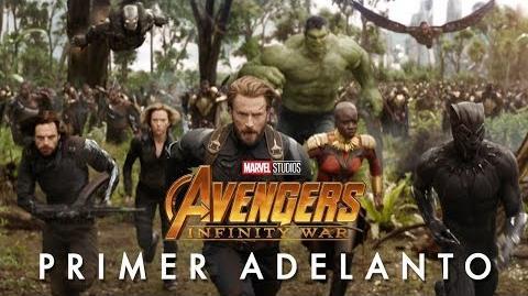 AVENGERS INFINITY WAR de Marvel Studios – Primer Adelanto