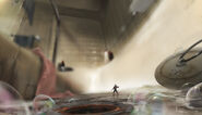 Ant-Man Shower Concept Art