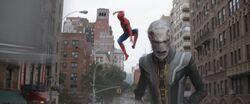 Spider-ManChasesEbonyMawInTheCity