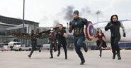 Team Cap running