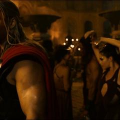 Thor tiene una visión sobre el futuro de Asgard y su gente.
