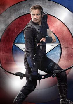 Hawkeye Poster - Civil War
