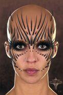 Raina Face Concept Art 4