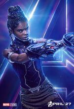 Shuri Avengers Infinity War poster