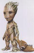 Baby Groot CA 5