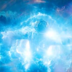 Danvers obtiene poderes cósmicos a partir de la explosión del motor.