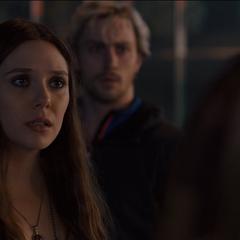 Wanda en contra de Visión.