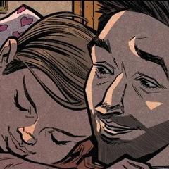 Lang se reúne con su hija.