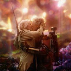 Pym se reúne con Janet.