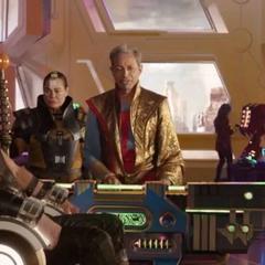 Thor descubre a Loki en Sakaar.
