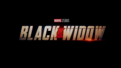 Black Widow Trailer Logo