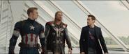 Cap, Thor & Stark