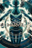 Captain Marvel Mondo Poster 2