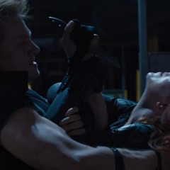 Romanoff luchando contra Barton.