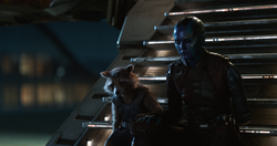 Rocket Raccoon & Nebula