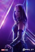 Avengers Infinity War Mantis Poster