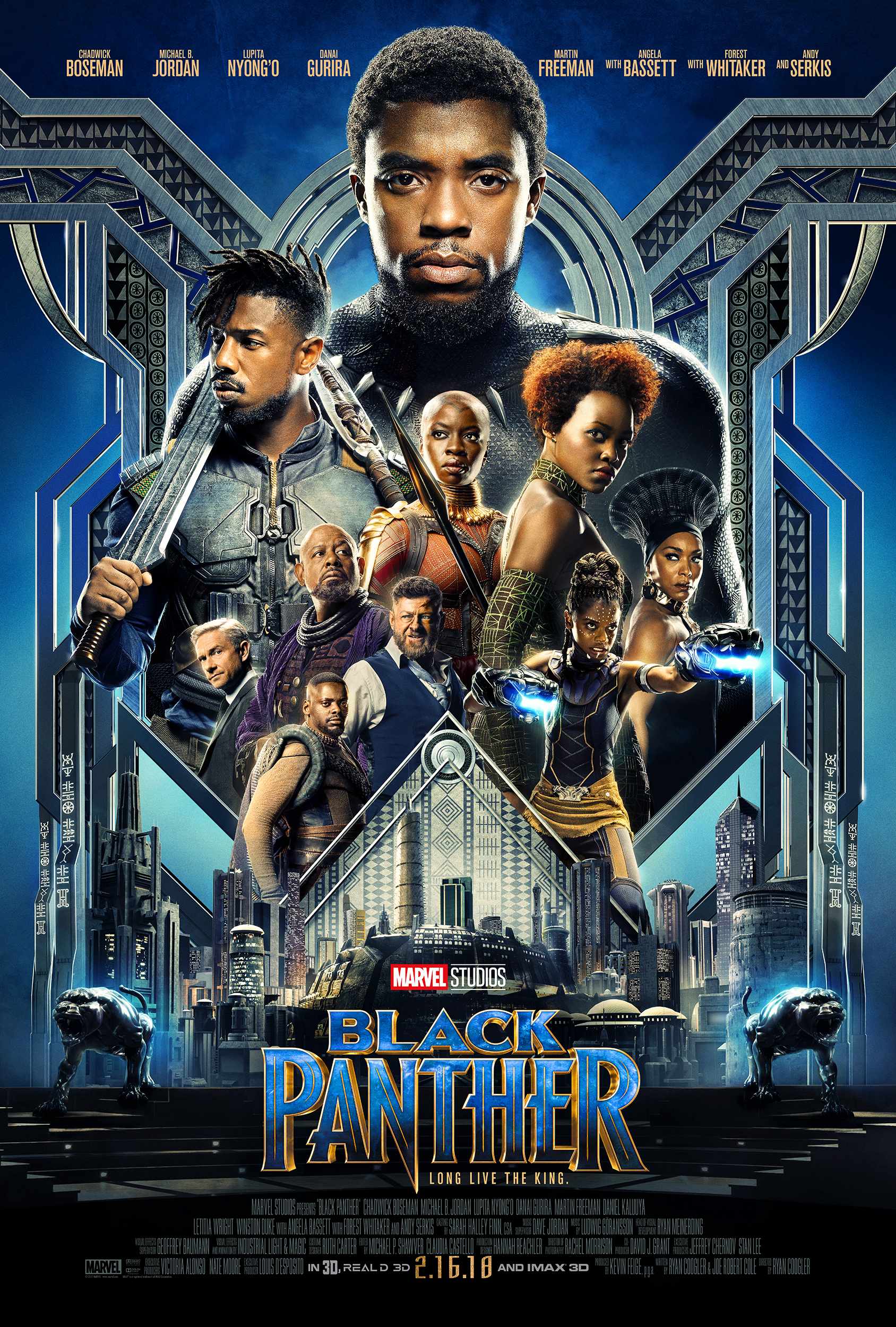 Image result for black panther poster hd