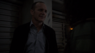Coulson explains to Tess that the Sharknado was fiction