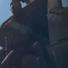 Fury localiza a Simmons y Fitz en el océano.