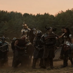 Los Merodeadores son arrestados por los Einherjar.