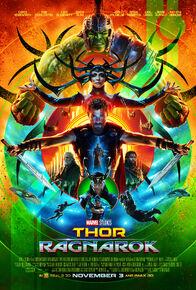 Thor Ragnarok SDCC Poster