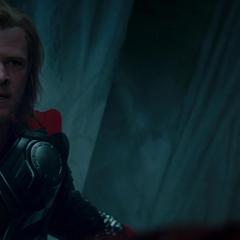 Thor le declara la guerra a los Gigantes de Hielo.