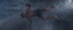 BP - T'Challa Falls Into The Water