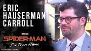 Executive Producer Eric Hauserman Carroll LIVE from the Spider-Man Far From Home red carpet