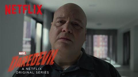 Marvel's Daredevil Season 3 Fisk Spotlight HD Netflix