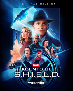 Agents of SHIELD - The Final Season Póster