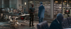 Rhodey confronts Ross
