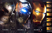 Iron Man Armor Progression Poster