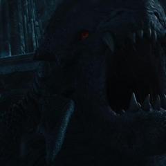 Laufey libera a una bestia gigante.