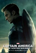 TWS Captain America Unmasked Poster