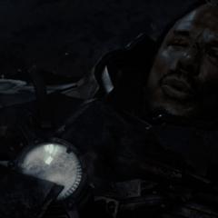 Vanko se burla de Stark antes de suicidarse.