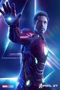 Avengers Infinity War Iron Man poster