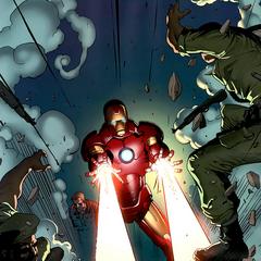 Stark le dispara a los soldados congoleños.