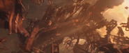 Iron Spider (Escaping Debris) 2