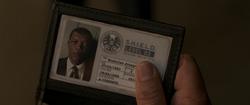 Nick Fury S.H.I.E.L.D. Badge