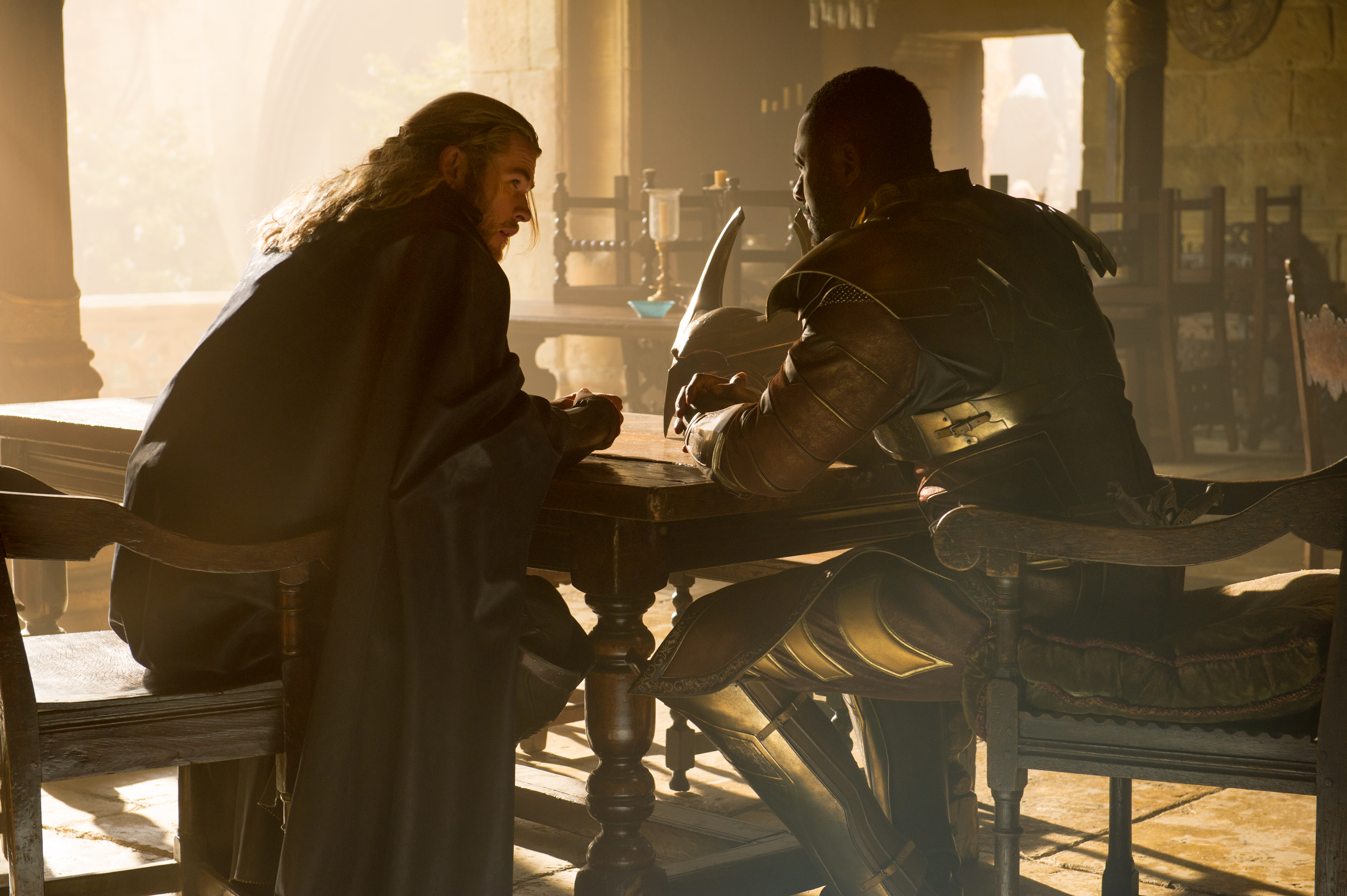 Image result for heimdall and thor