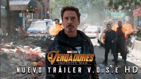 Vengadores Infinity War de Marvel Nuevo Tráiler Oficial en V.O.S.E HD