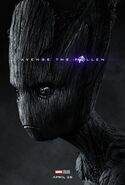 Groot (Endgame Poster)
