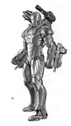 Iron Man 2 2010 concept art 3